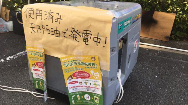 天ぷら油発電