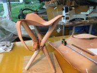 〖里山工房〗端材を有効活用したハンティングチェア